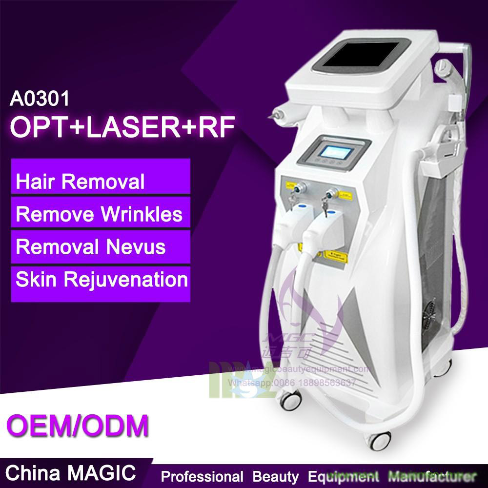 New generation & Stable quality MSLOL01 4 in 1 OPT Elight ipl hair removal machine for sale