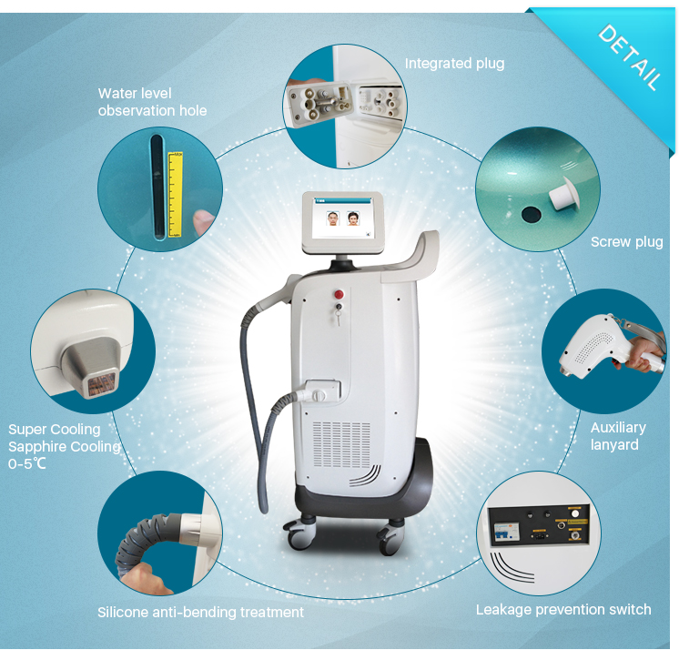 diode laser hair removal machine MSLDL04