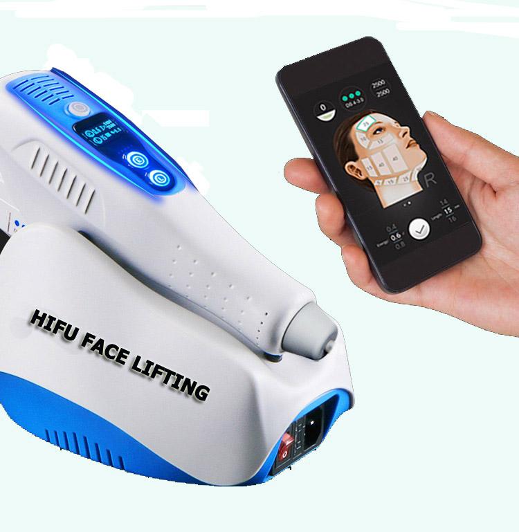 Portable mini wifi hifu face lifting Machine