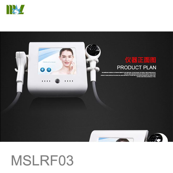 rf skin tightening face lift RF machine